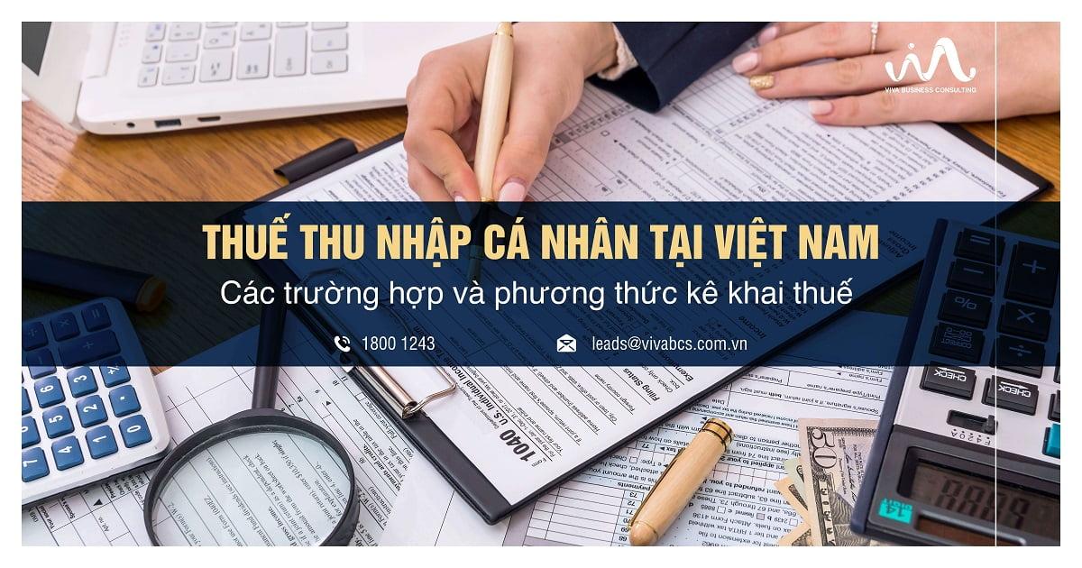 Kê khai thuế thu nhập cá nhân