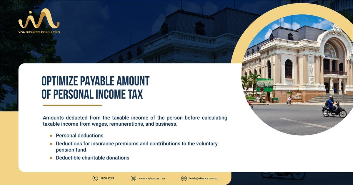 Optimize payable amount of personal income tax