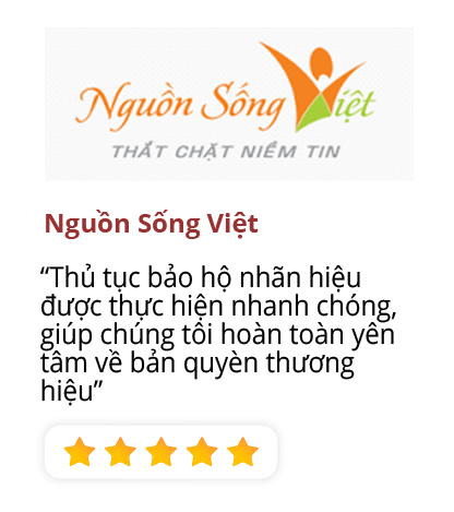 Nguồn sống Việt review register trademark