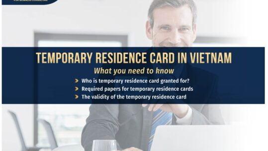 Expats in Vietnam: Temporary residence card | VIVA BCS