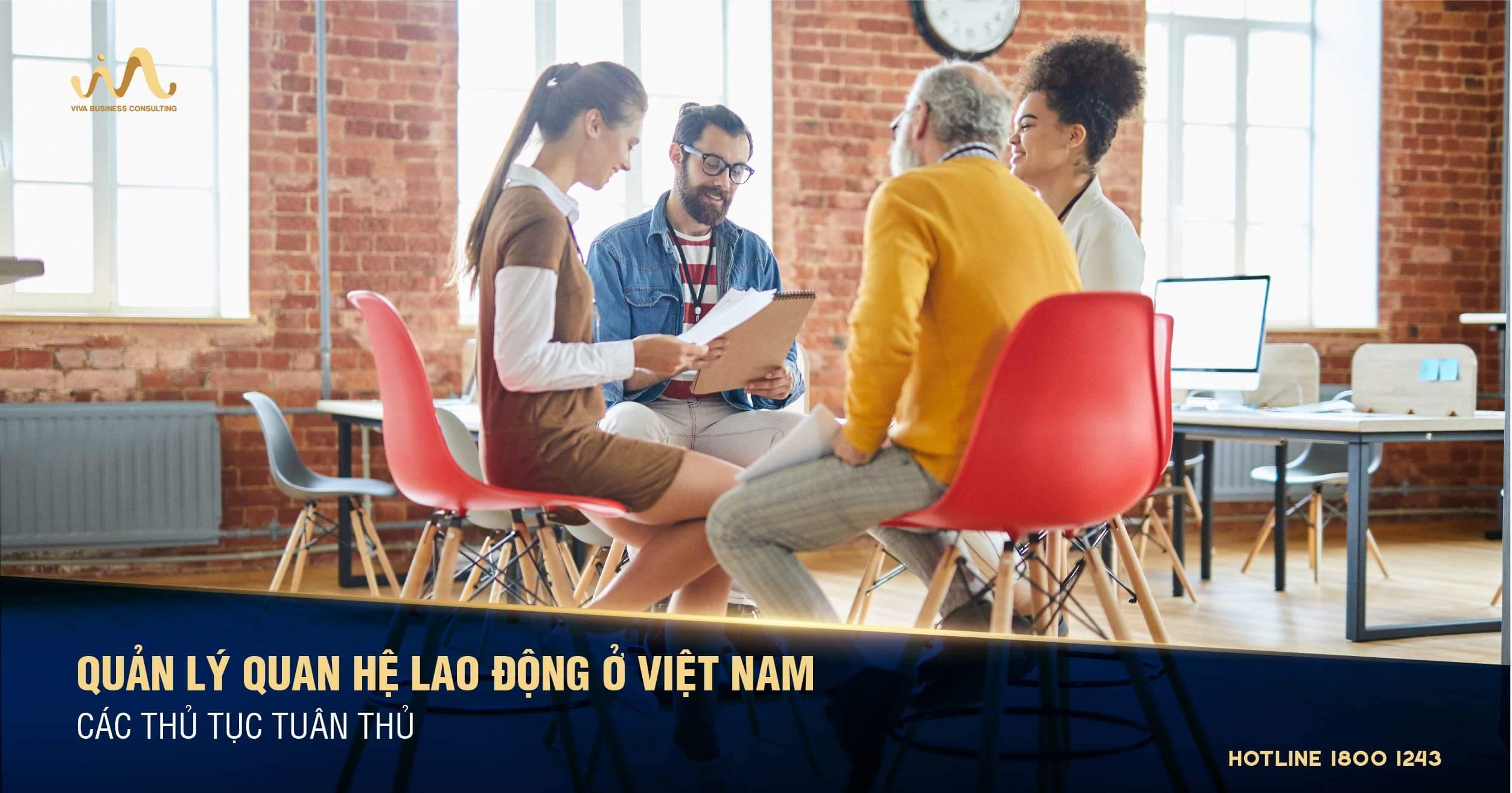 Quản lý quan hệ lao động ở Việt Nam