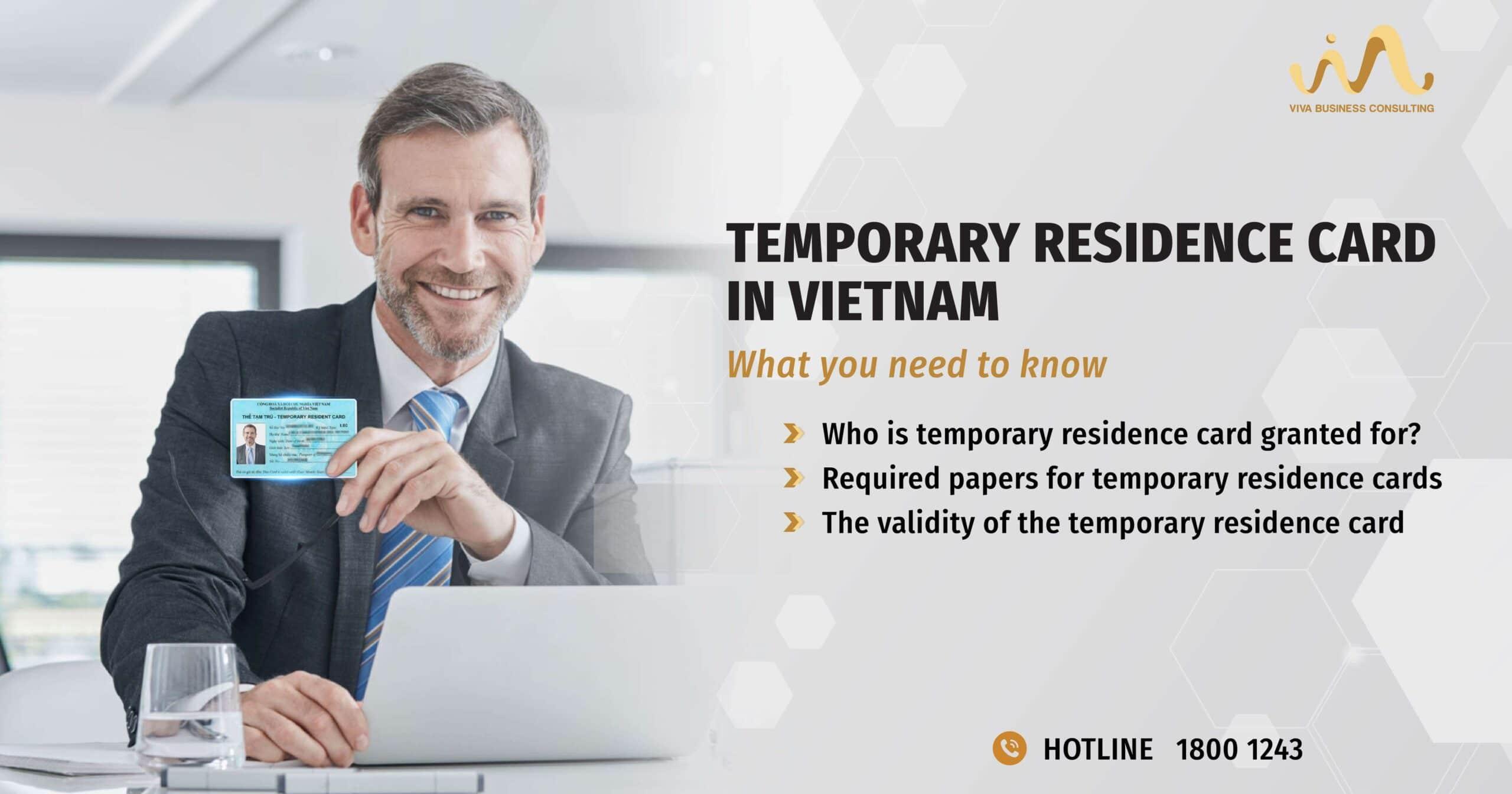 Temporary Residence Card in Vietnam