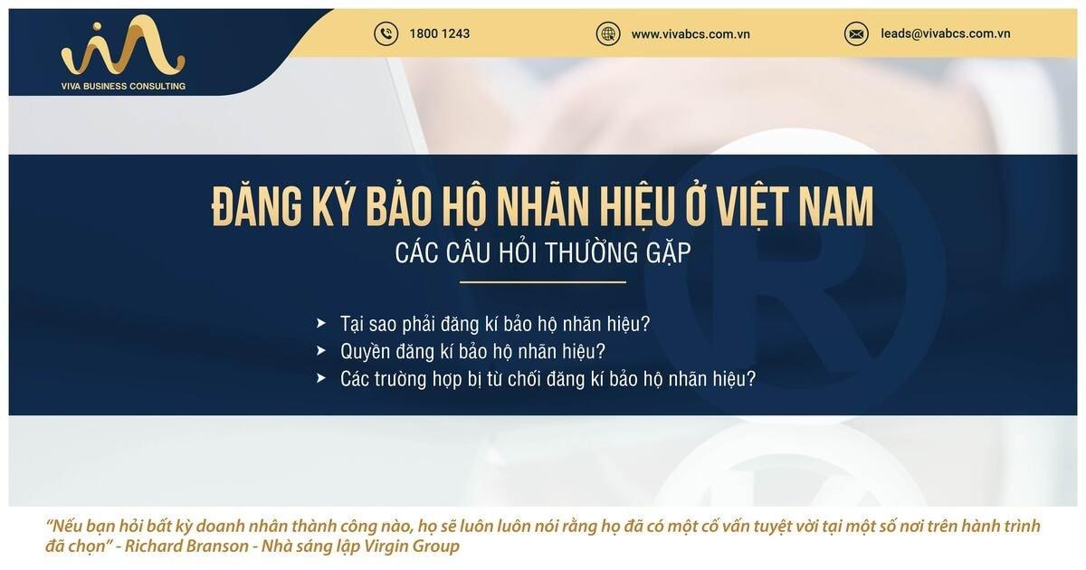 Bảo hộ nhãn hiệu ở Việt Nam: Các câu hỏi thường gặp