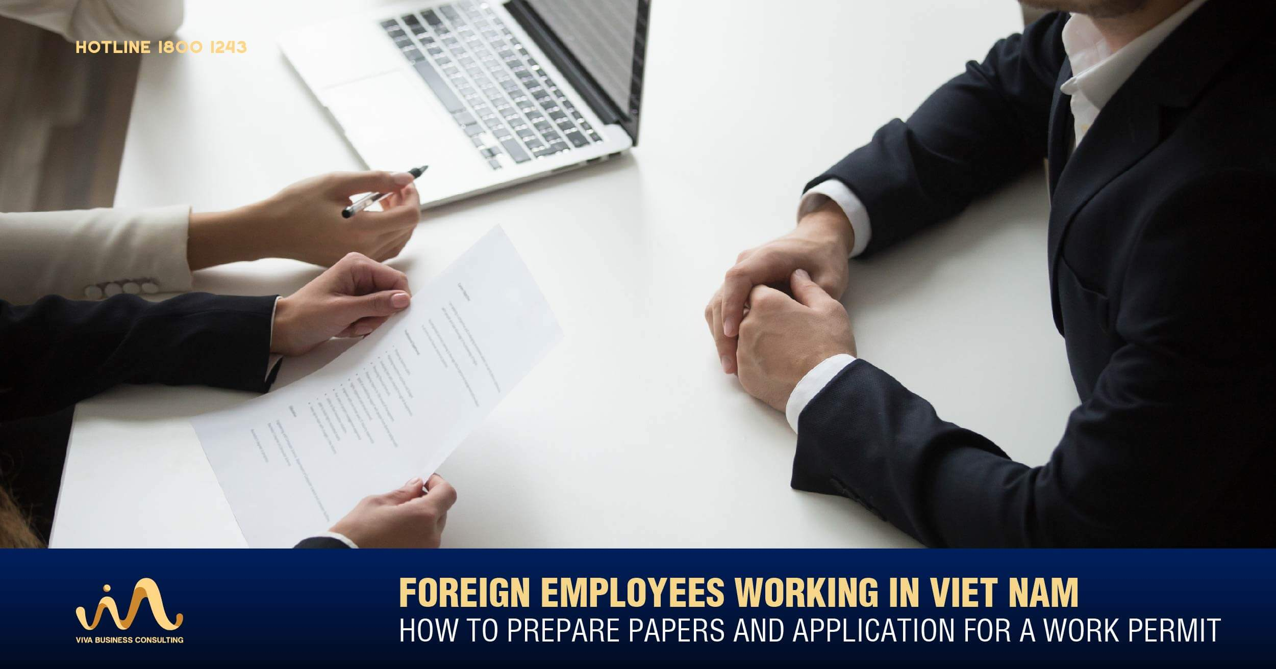 Work Permit Application & Required Documents in Vietnam