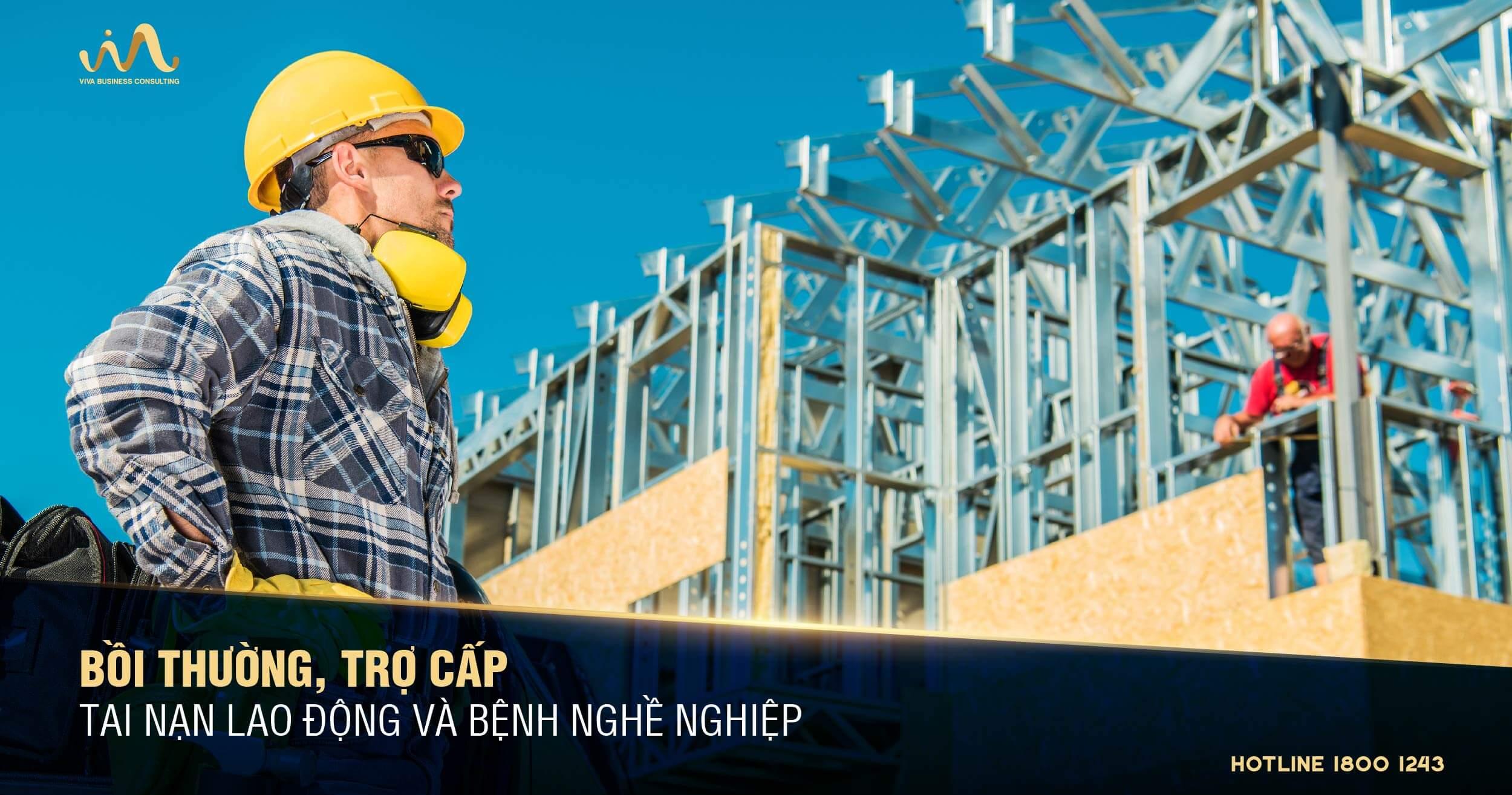 Quy định pháp luật về trợ cấp, bồi thường tai nạn lao động