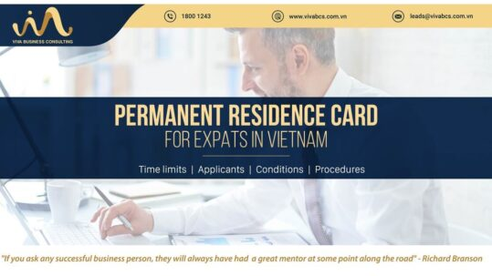 Permanent residence card for expats in Vietnam
