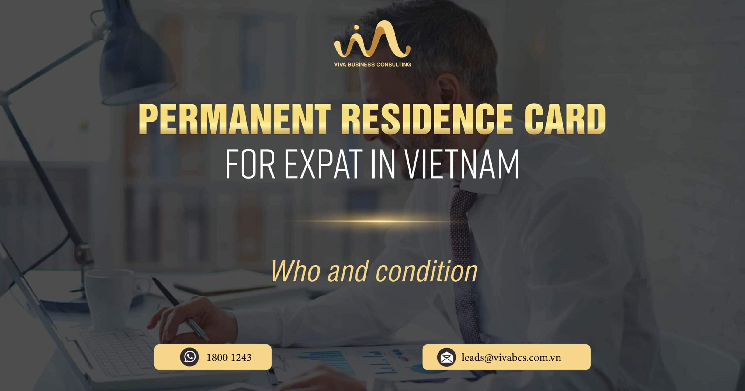 Permanent residence card for foreigners in Vietnam