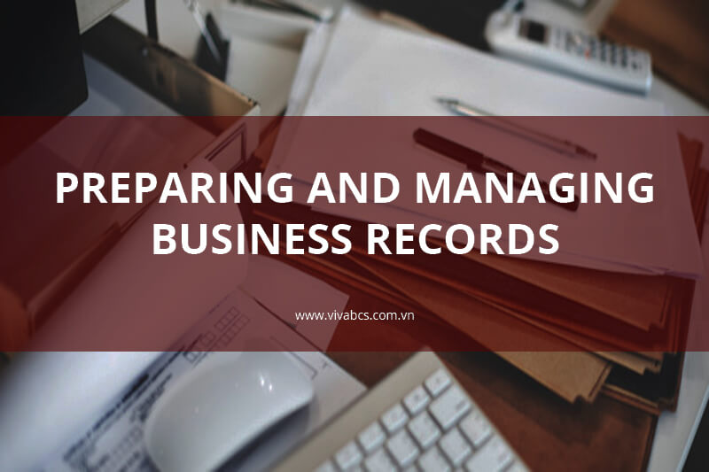 Preparing business records in Vietnam