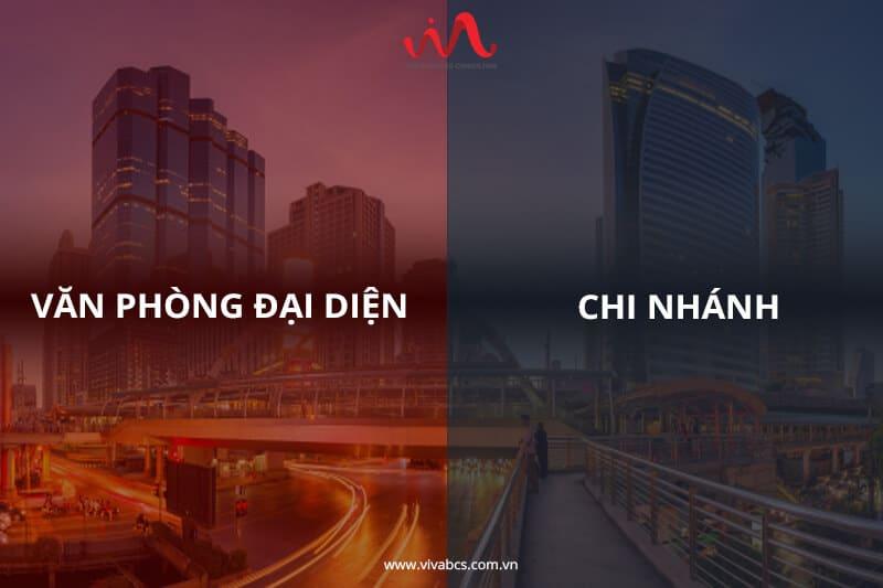 Nên thành lập chi nhánh hay văn phòng đại diện tại Việt Nam