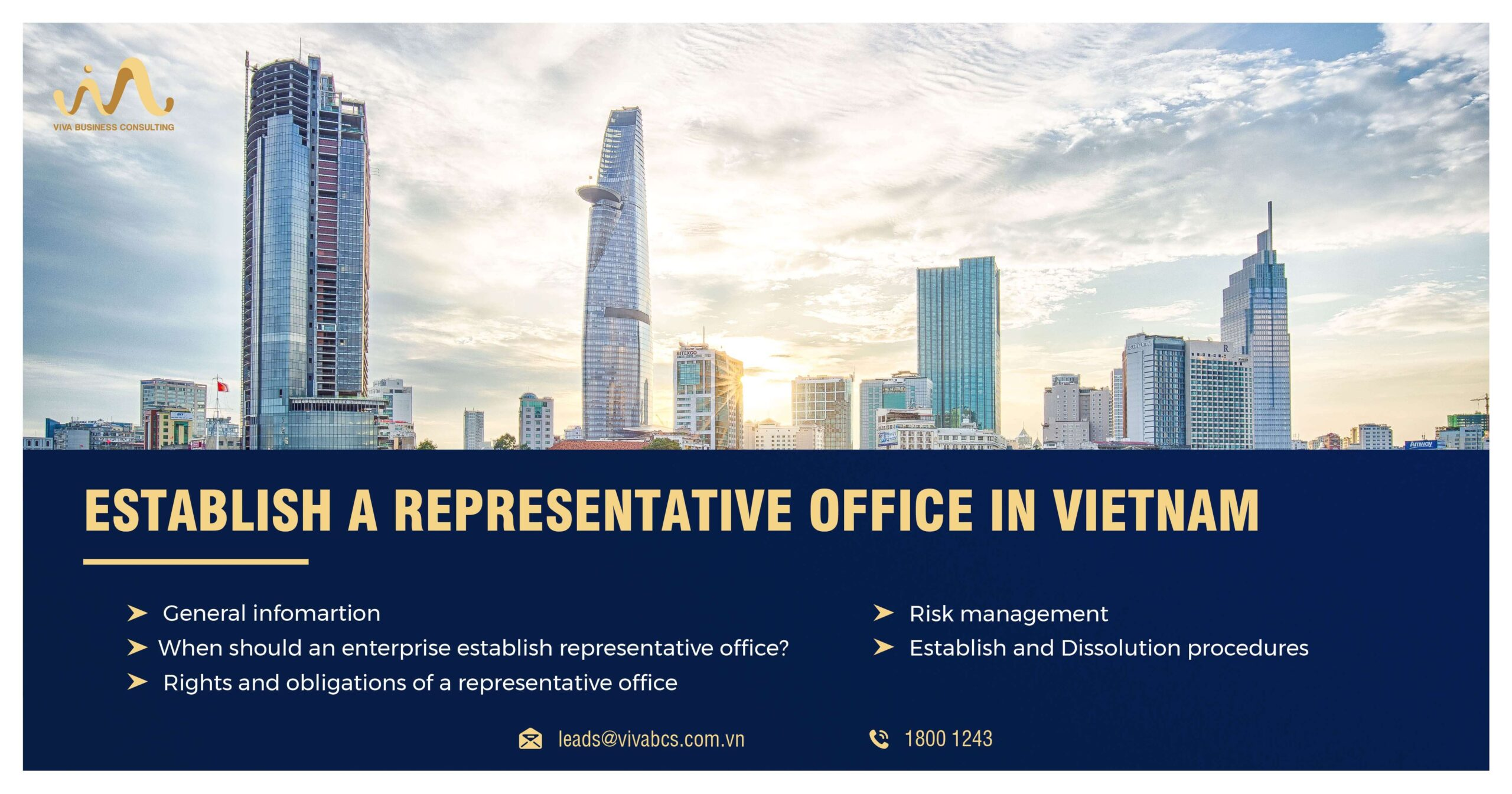 Establish representative office of an Enterprise in Vietnam