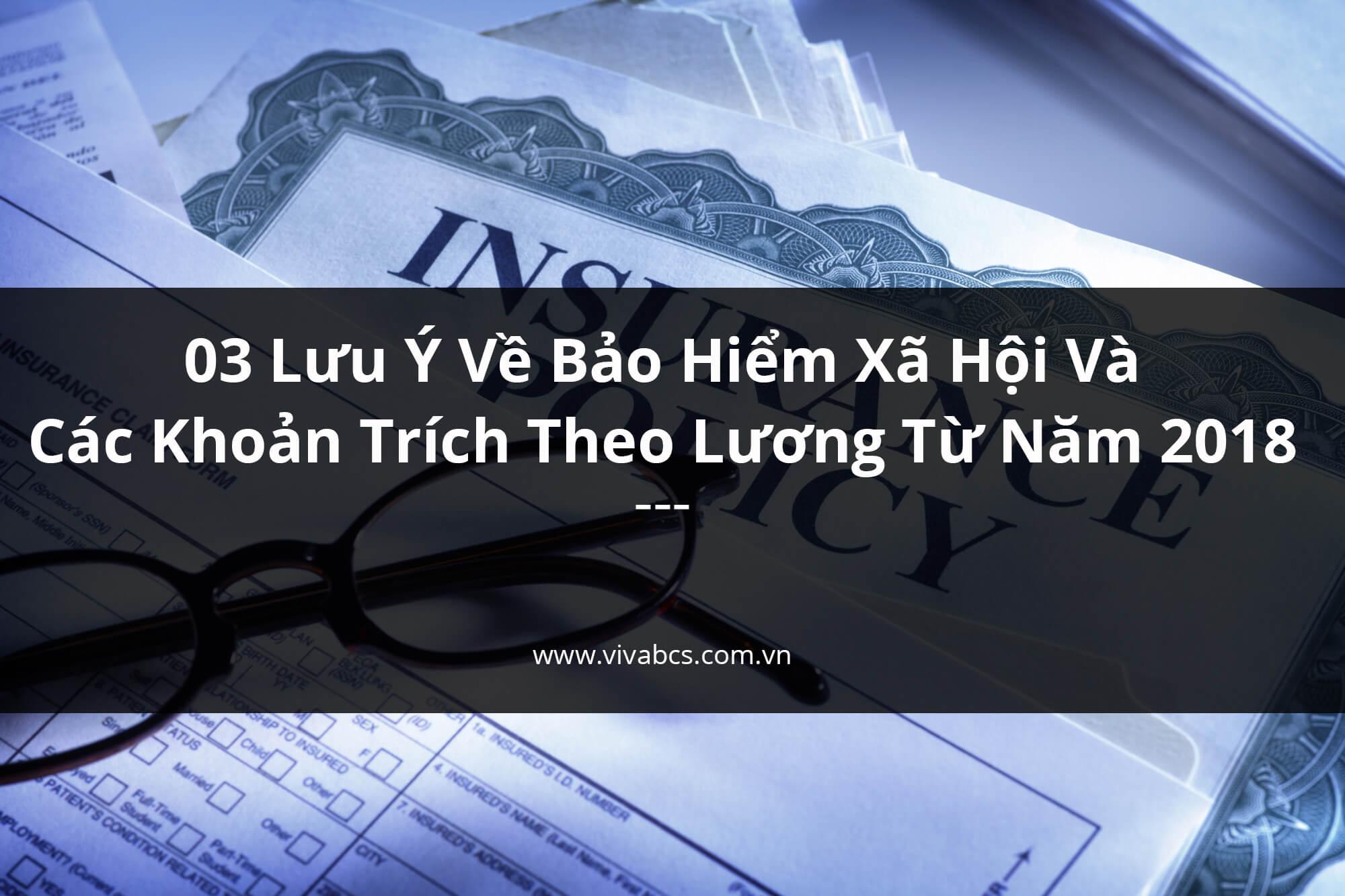 03 Lưu Ý Về Các Khoản Trích Theo Lương Và BHXH Năm 2020