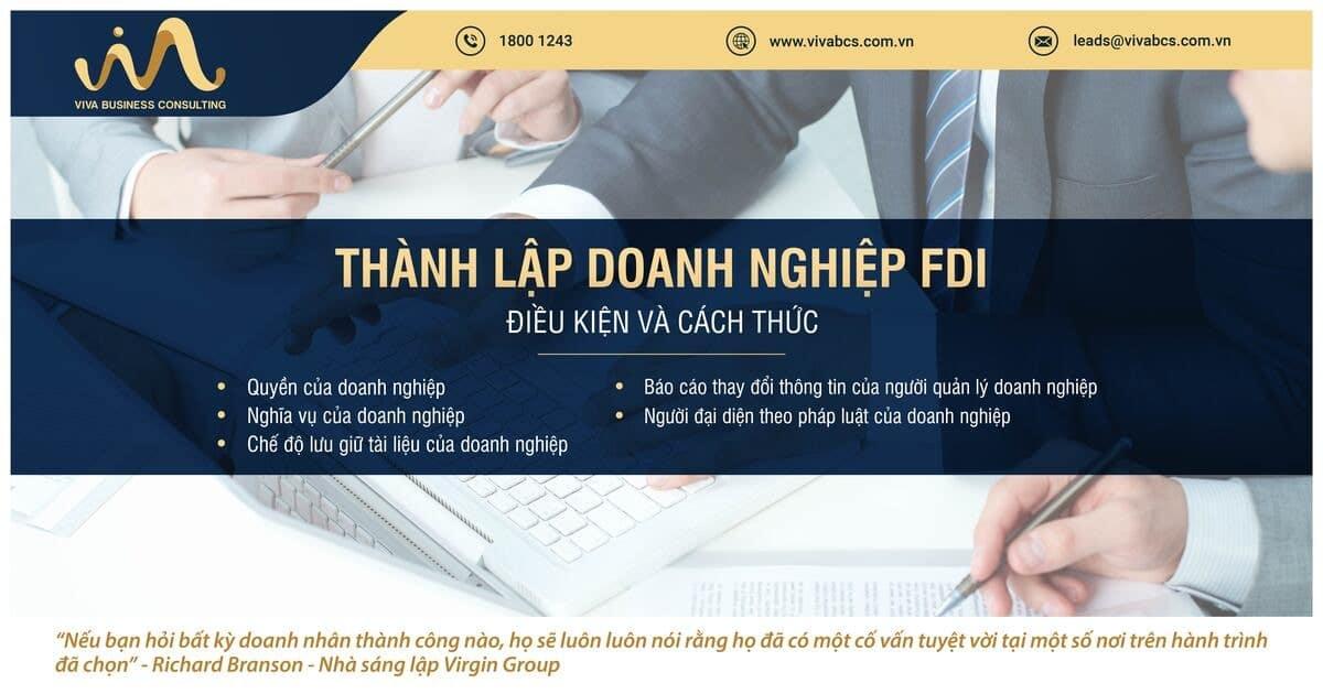 Thành lập doanh nghiệp FDI tại Việt Nam: điều kiện và cách thức