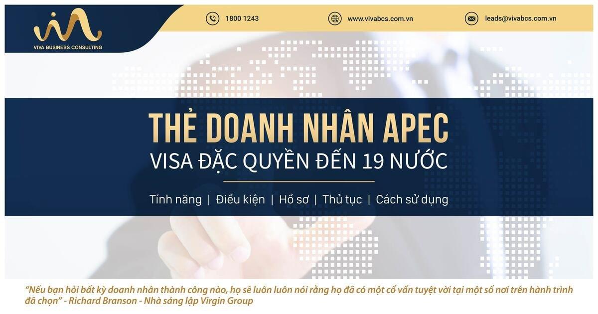 Thẻ doanh nhân APEC: visa đặc quyền đến 19 quốc gia khối APEC