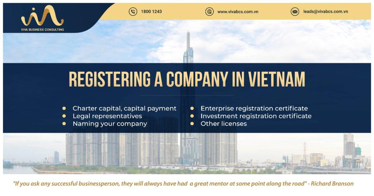 Register a company in Vietnam
