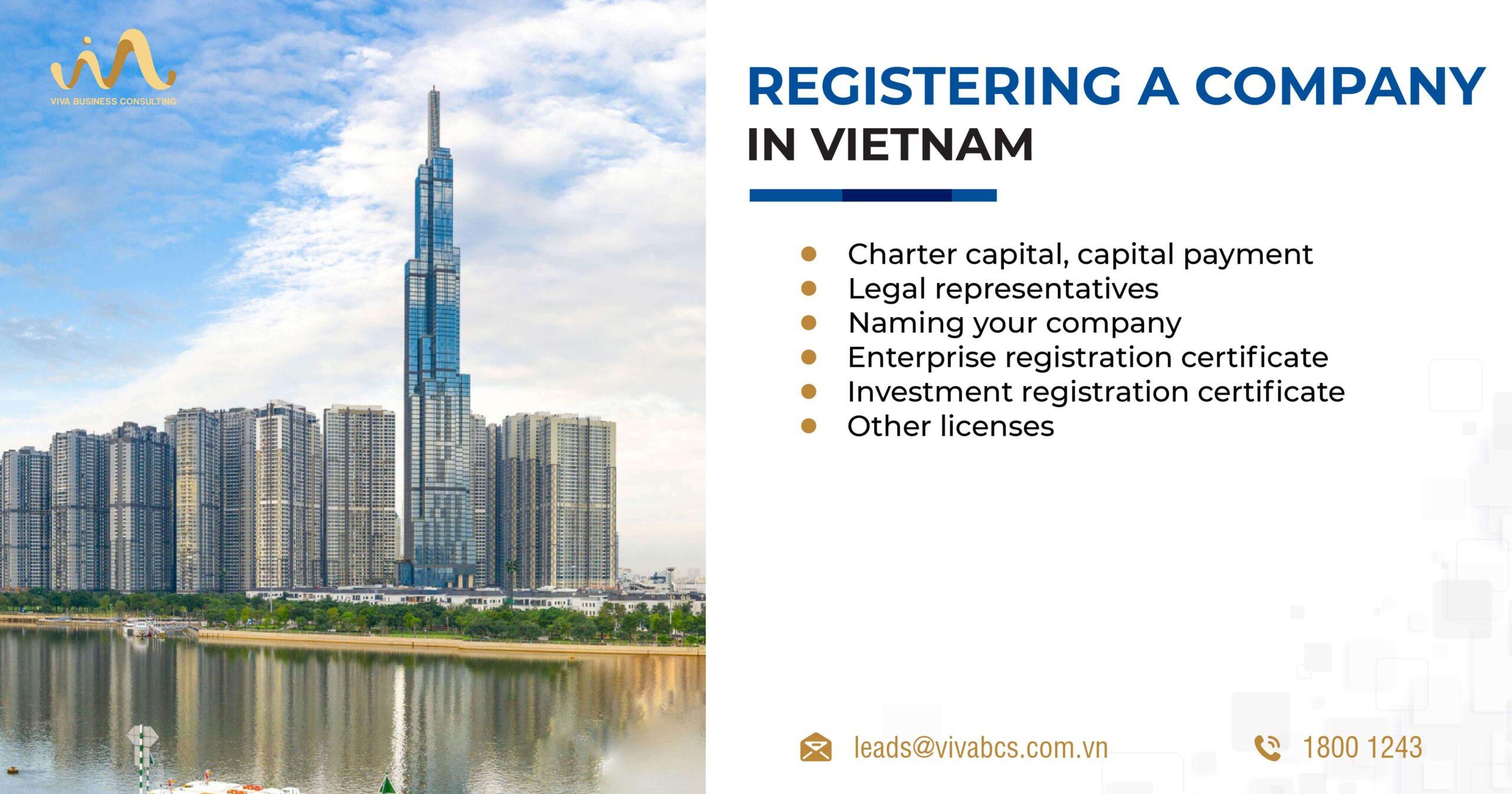 Registering a company in Vietnam