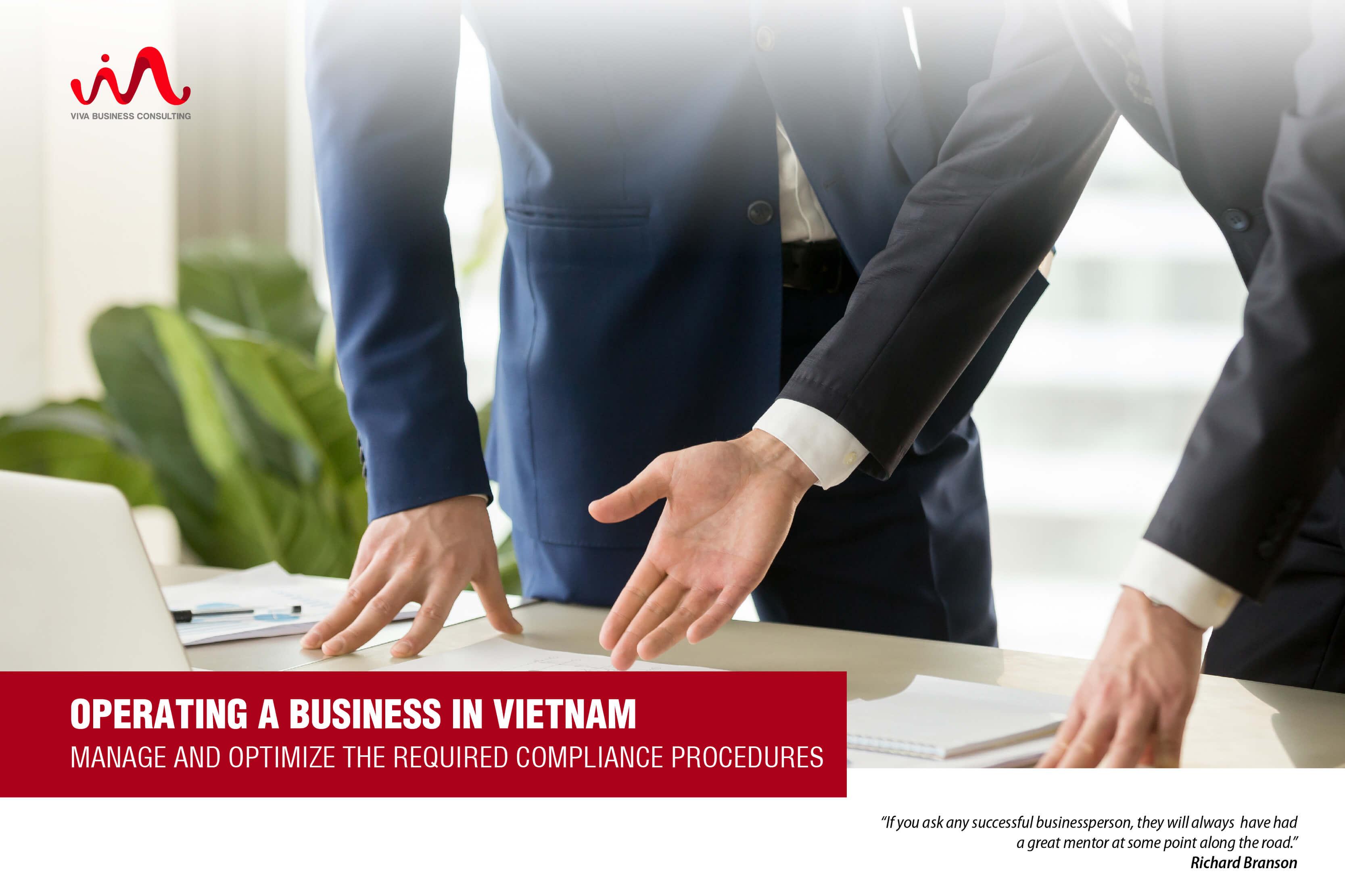 Manage Company's Compliance Procedures In Vietnam - Tax Procedures