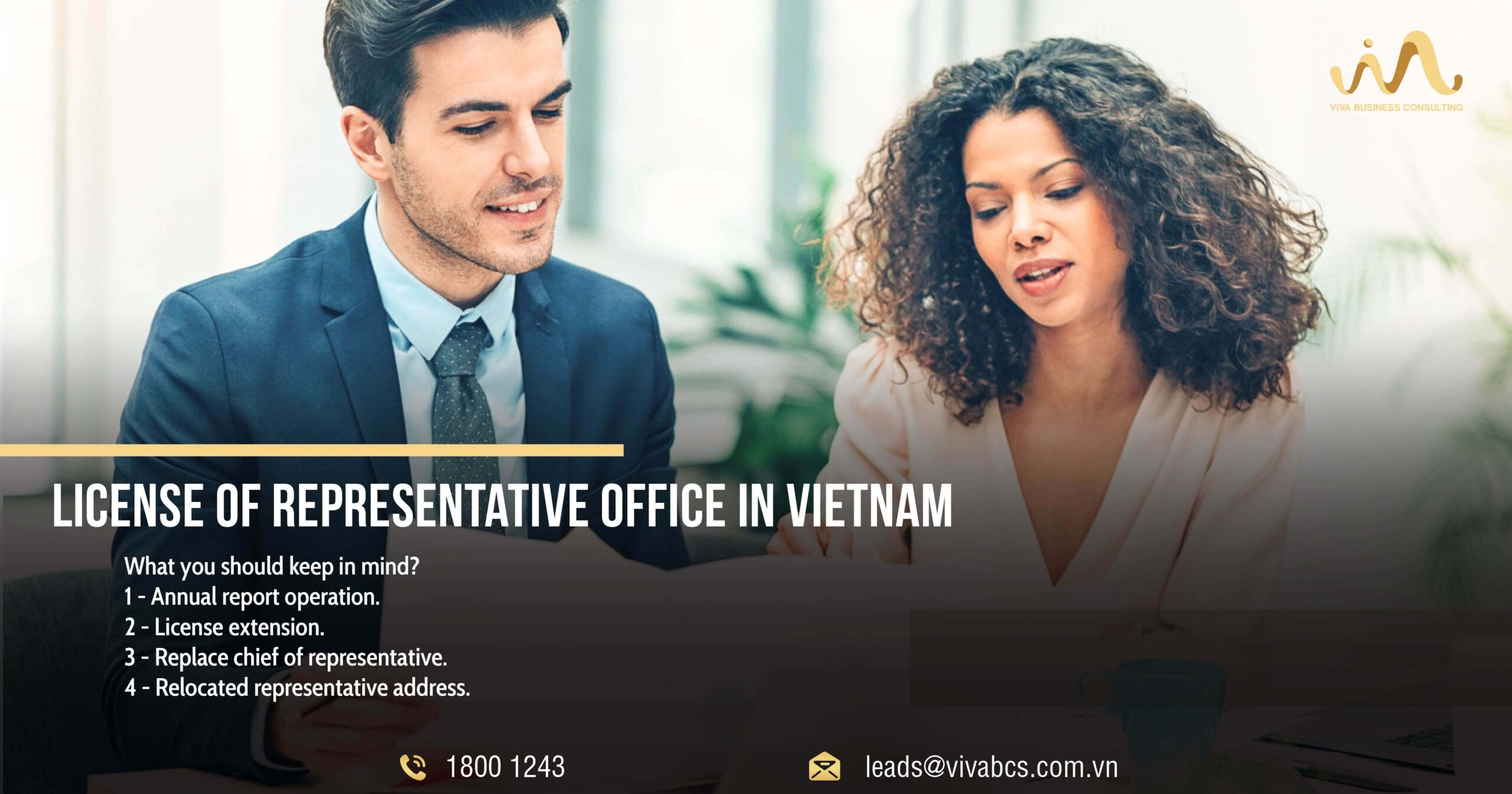 License of representative office in Vietnam