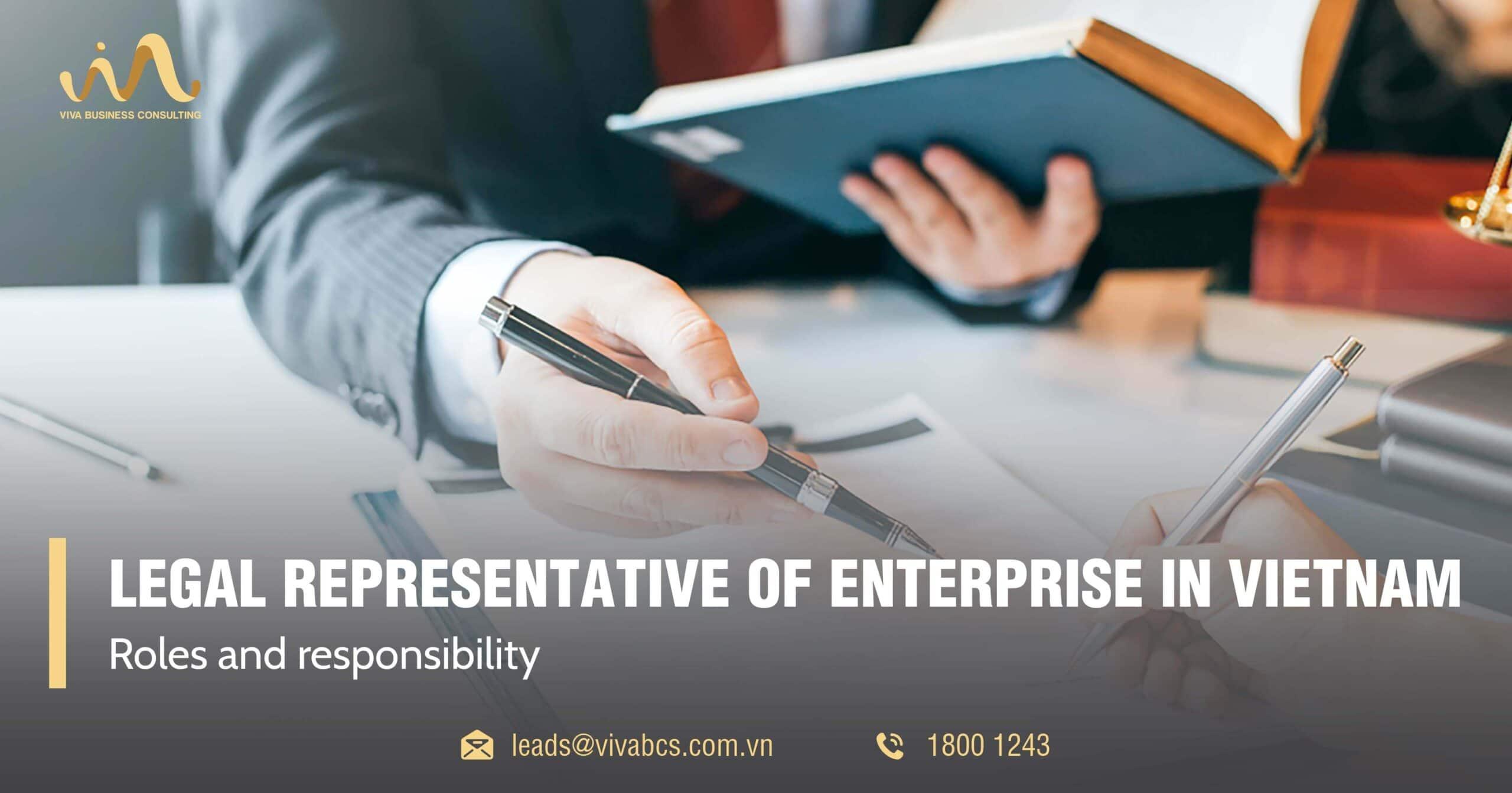 Legal representative of enterprise in Vietnam