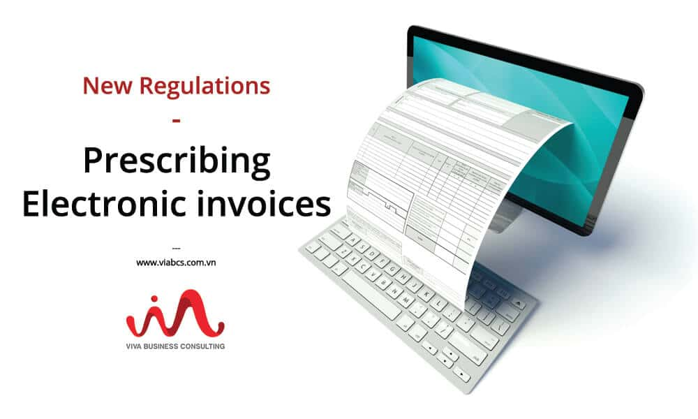 E-Invoices - New regulations on prescribing Electronic Invoices