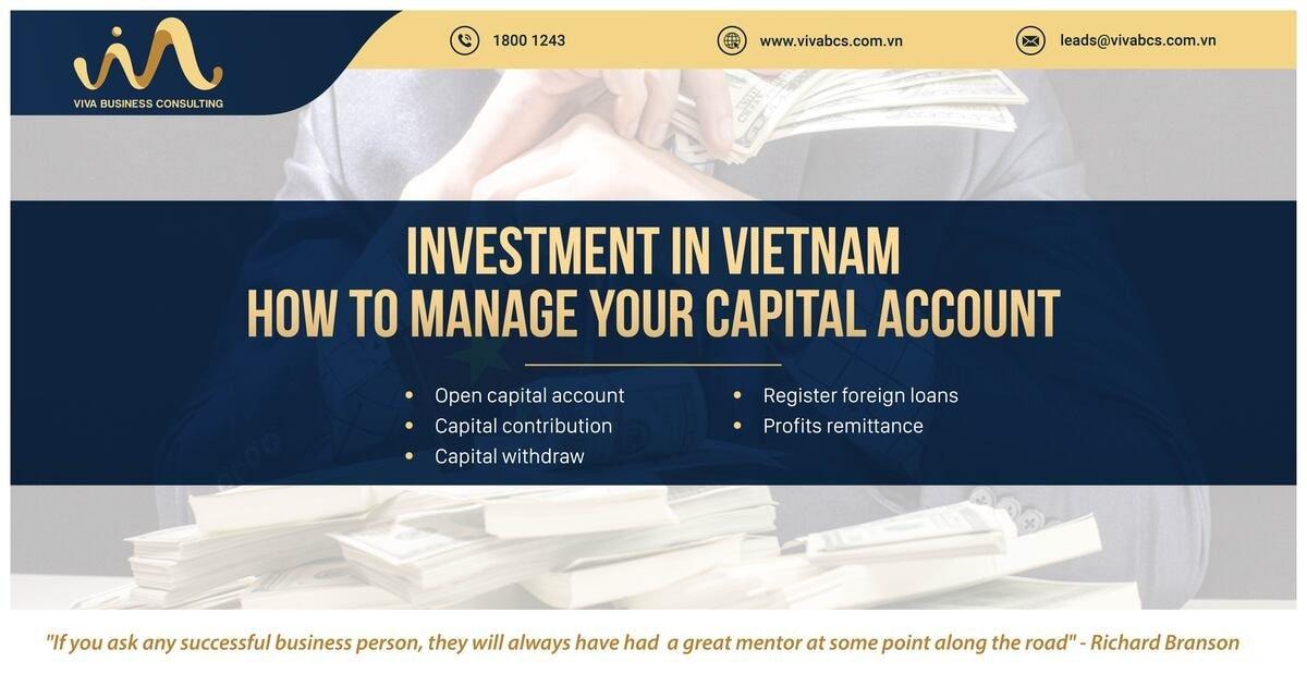 Direct investment capital account Vietnam