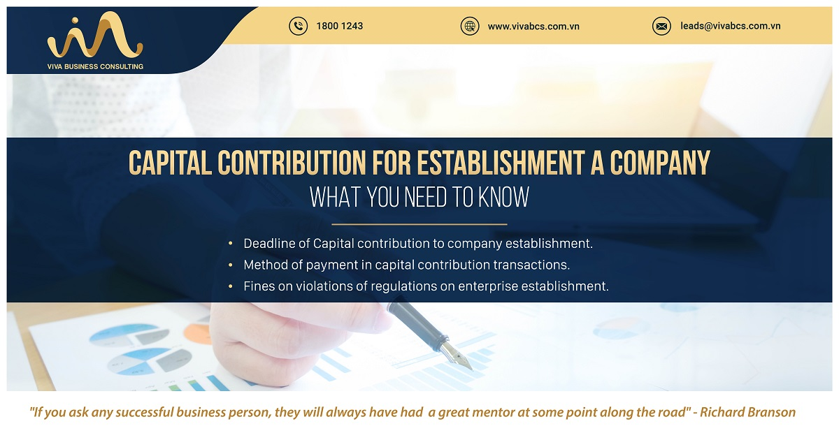 Establishment A Company: Capital Contribution | VIVA BCS