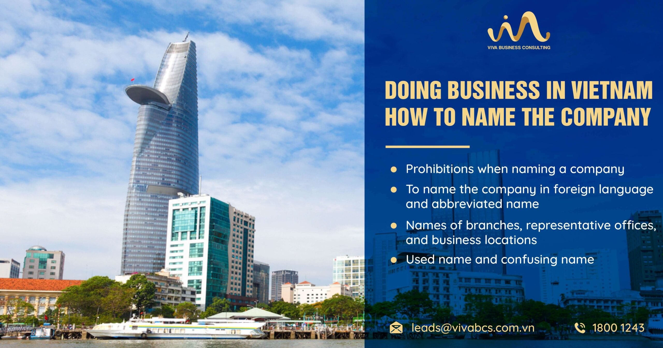 Doing business in Vietnam: How to name the company