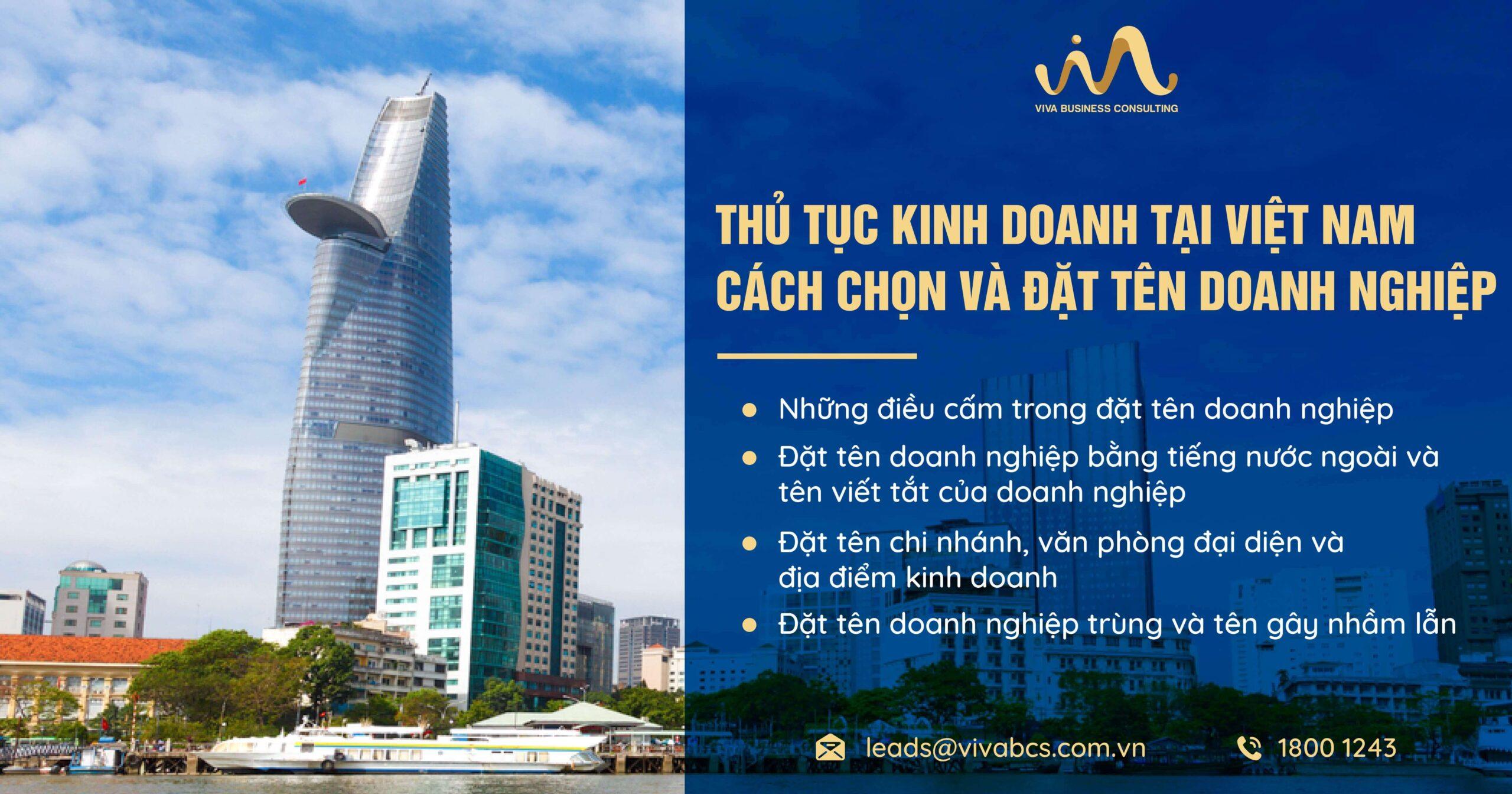 Thủ Tục Kinh Doanh Tại Việt Nam - Chọn Và Đặt Tên Doanh Nghiệp