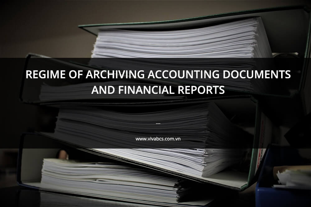 archived accounting documents