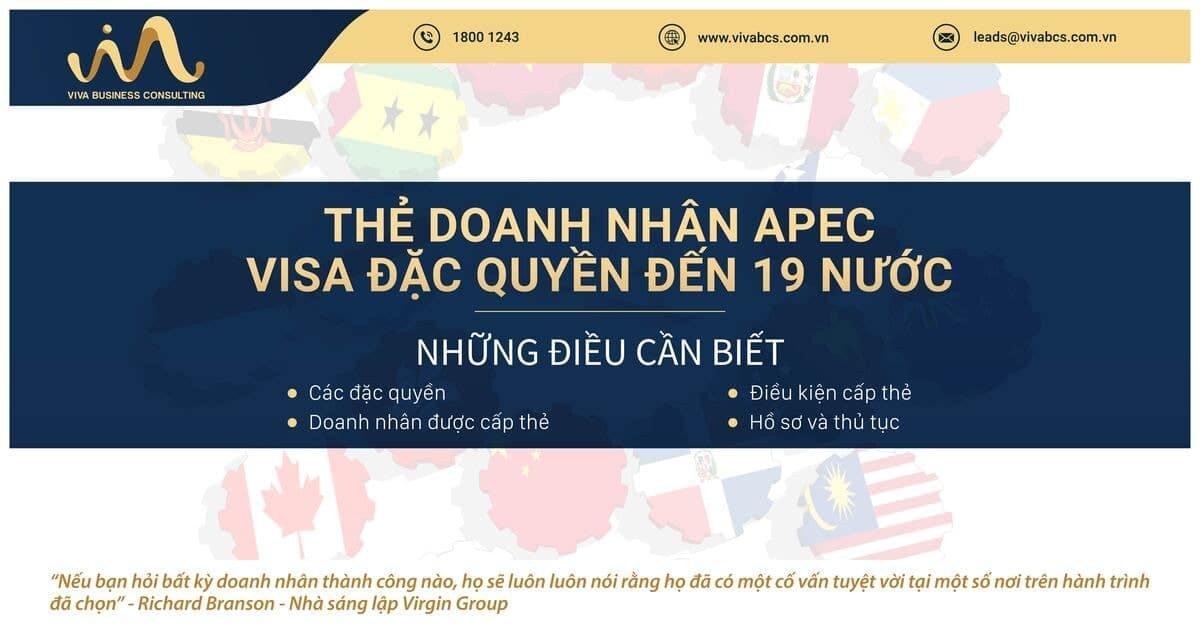 Thẻ doanh nhân APEC: những điều cần biết