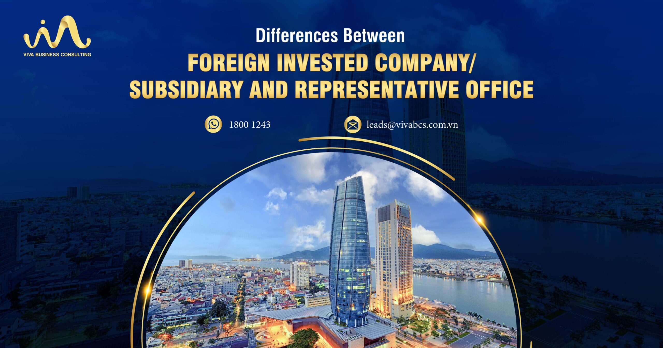 foreign invested company & representative office in Vietnam