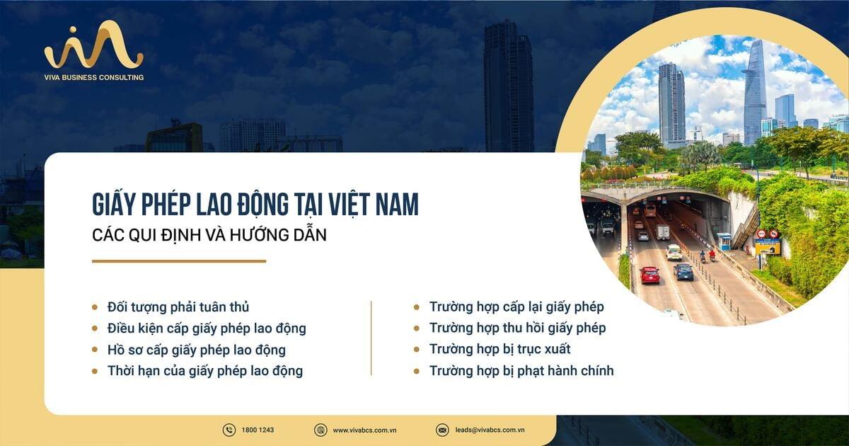 Giấy phép lao động tại Việt Nam - Quy định và hướng dẫn