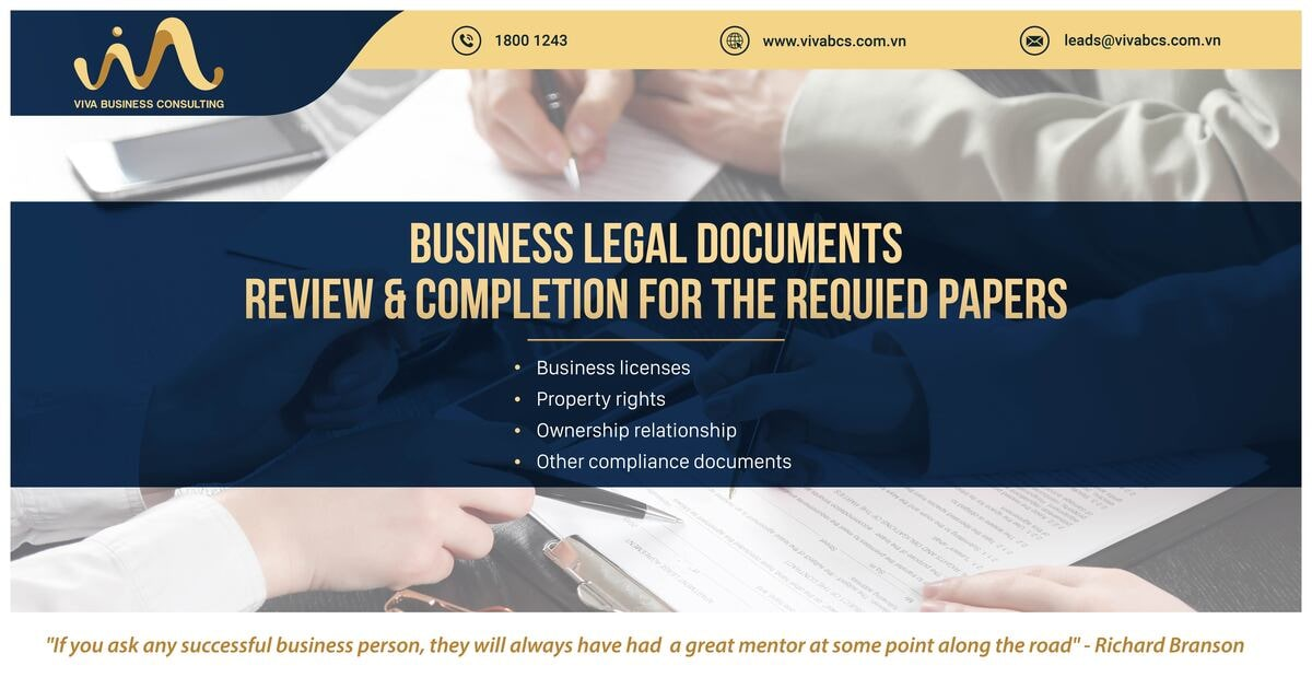 Doing business in Vietnam: Legal documents review & completion
