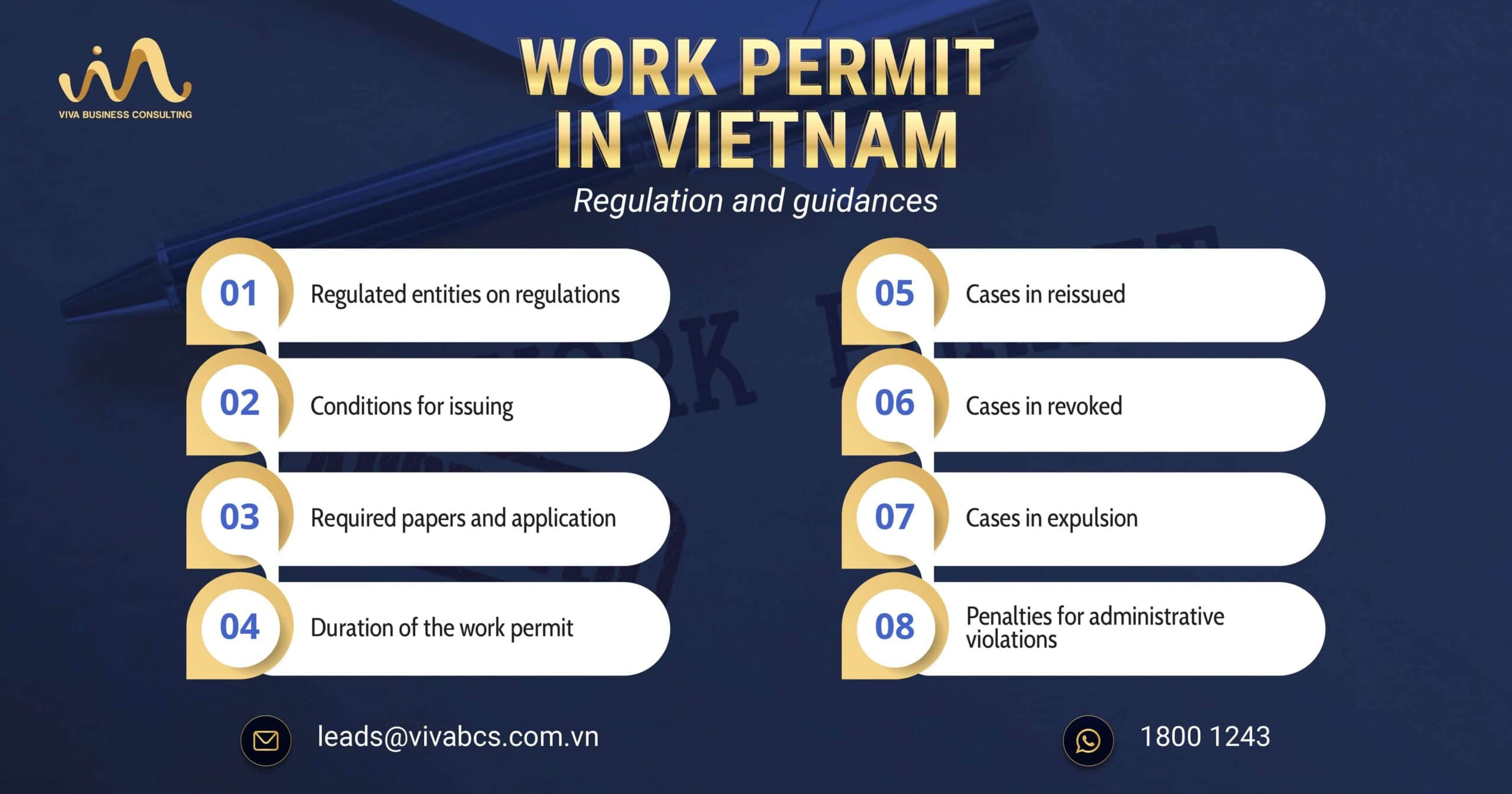 Work Permit in Vietnam - Regulations and Guidances