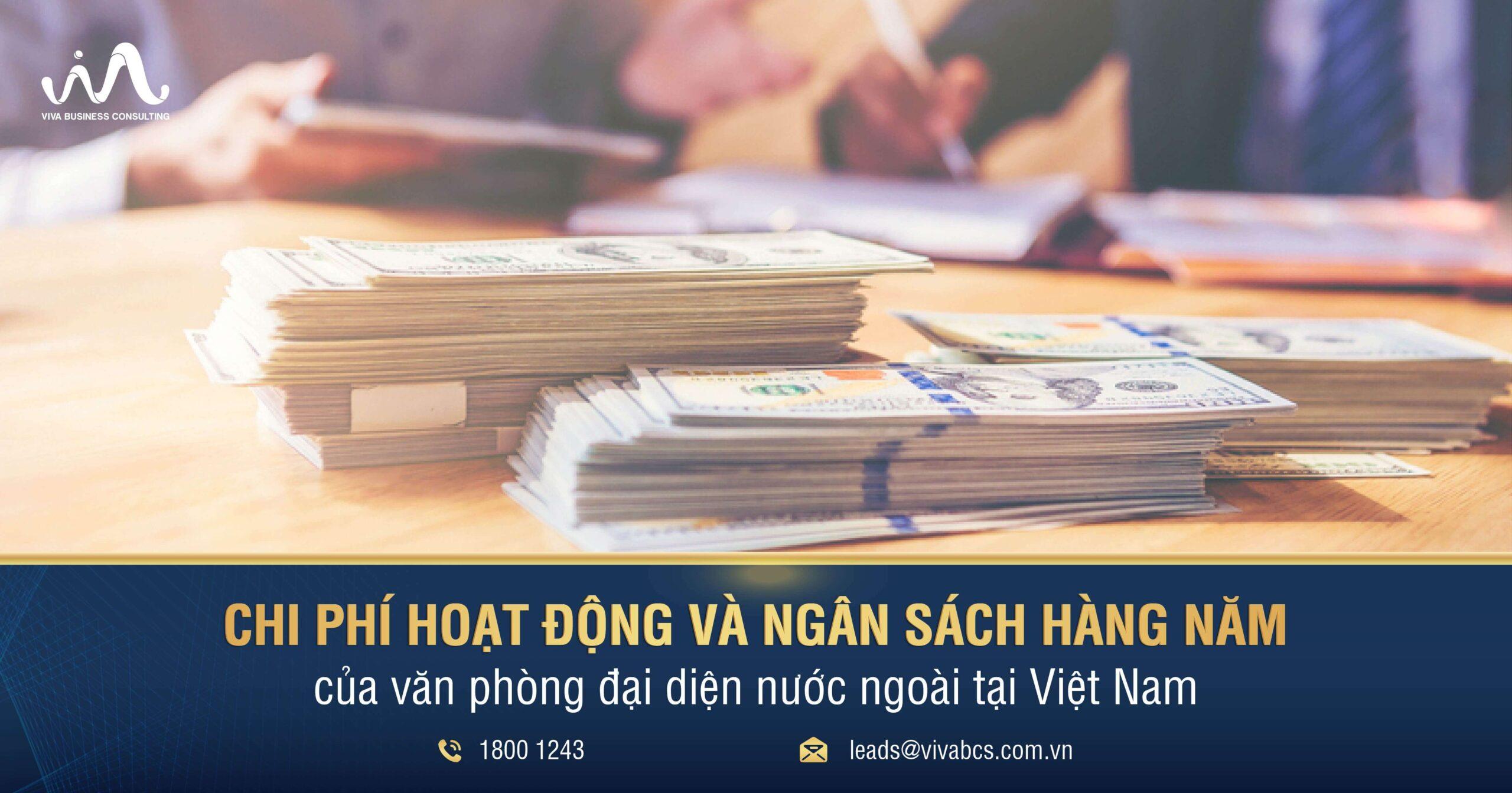 Chi phí hoạt động của văn phòng đại diện nước ngoài