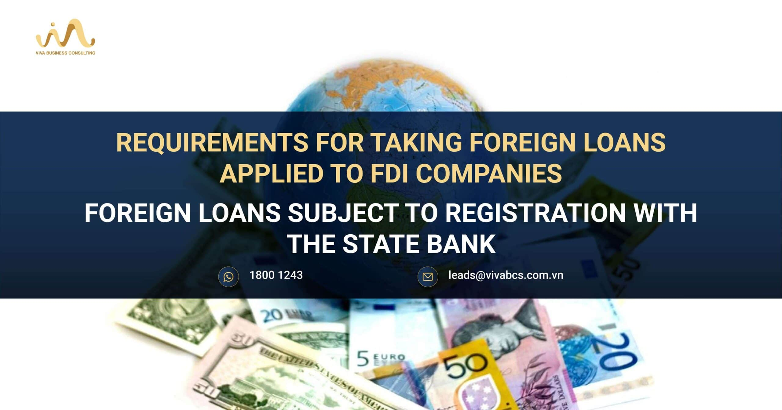 Foreign Loans FDI Company in Vietnam