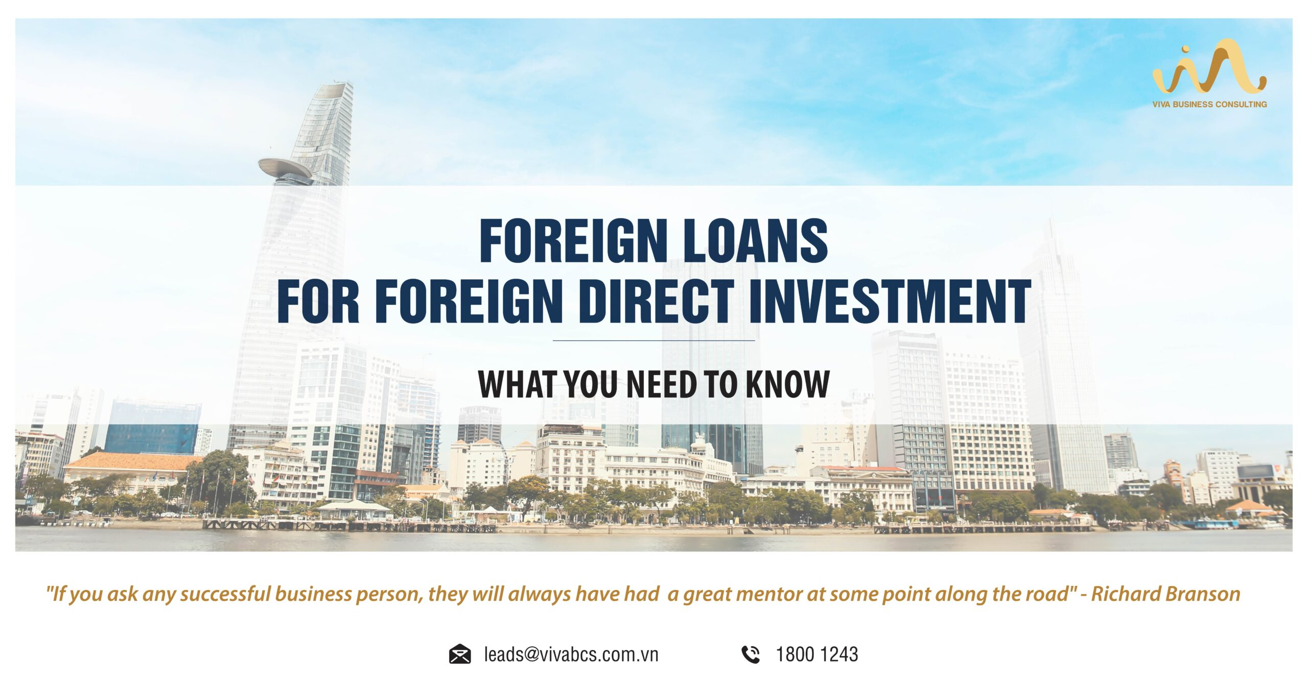 Foreign loans for FDI Company
