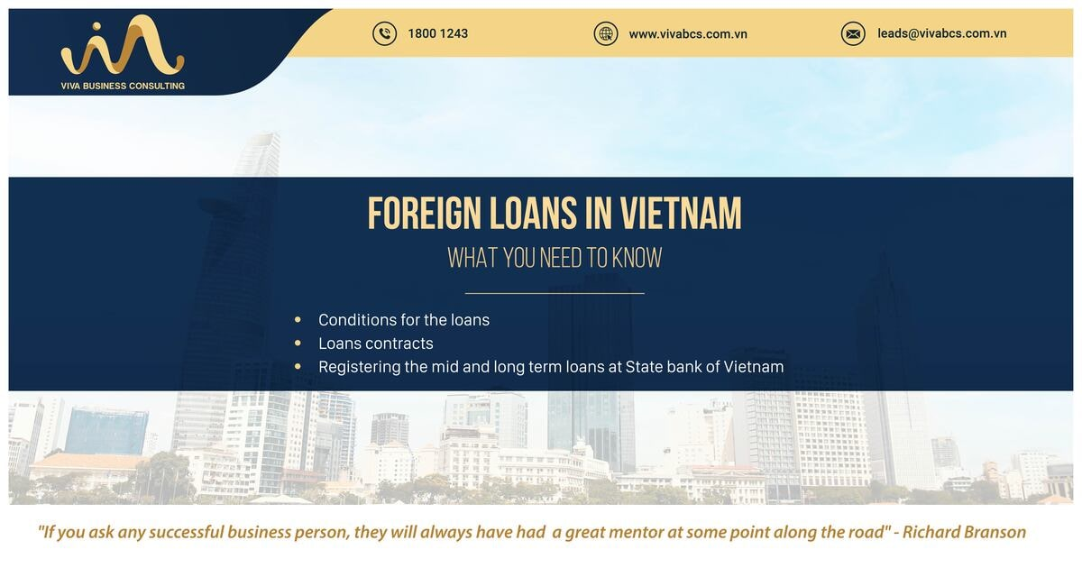 FDI company in Vietnam: Foreign Loans | What you need to know
