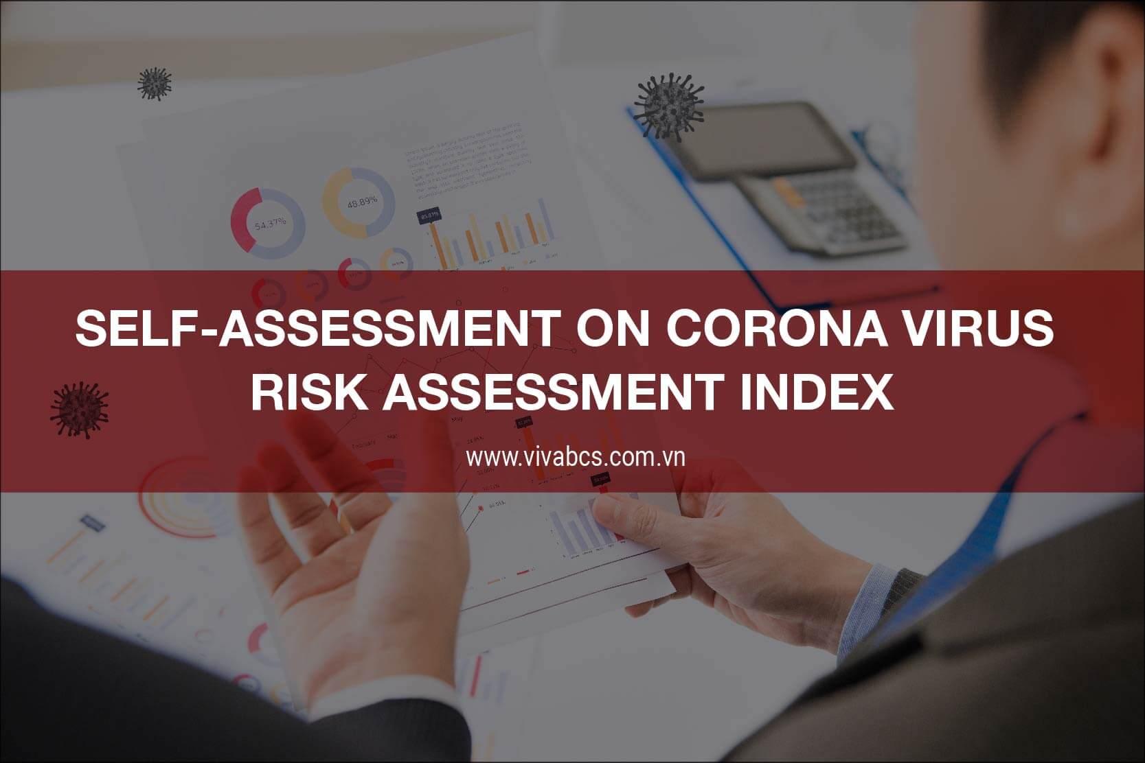 Corona virus risk assessment index