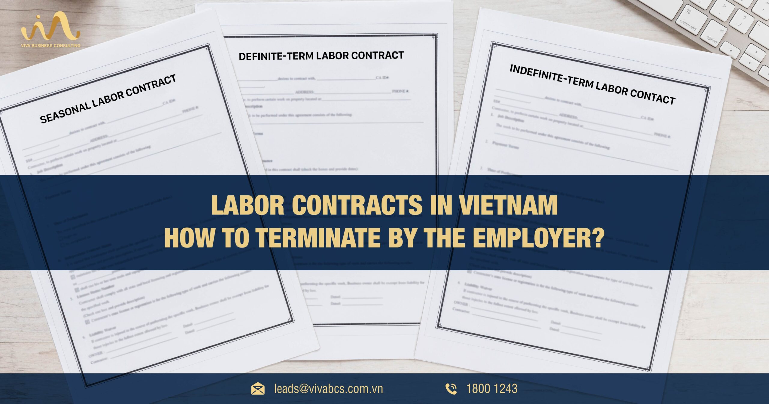 Type of labor contracts | Case of terminate by the employer?