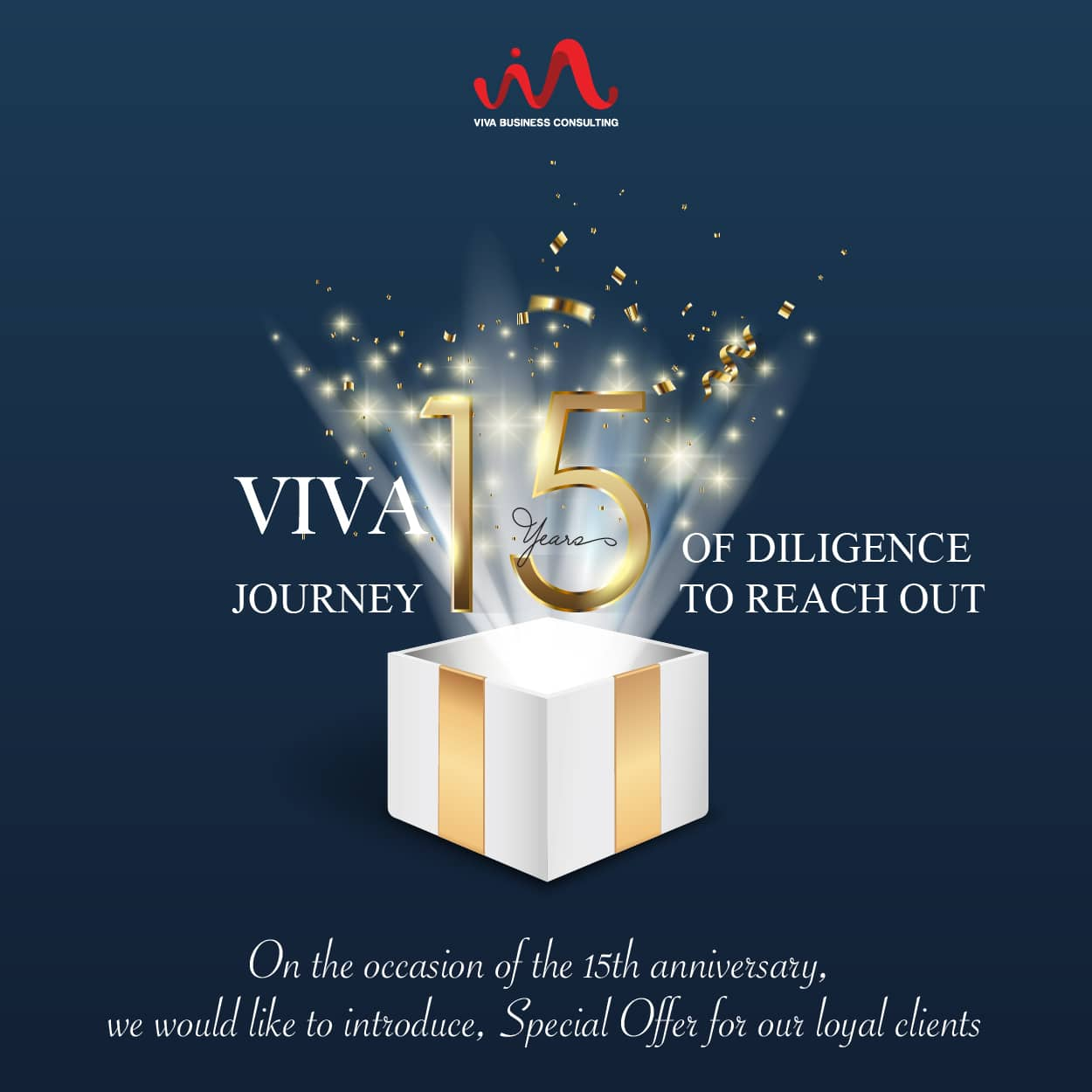 15 Years VIVA Anniversary promotion