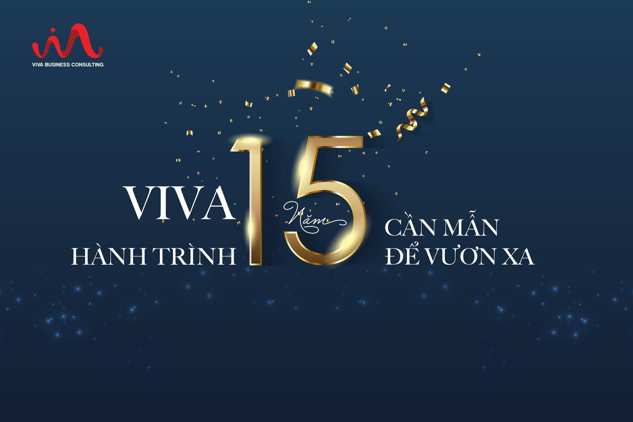 Viva BCS kỉ niệm hành trình 15 năm