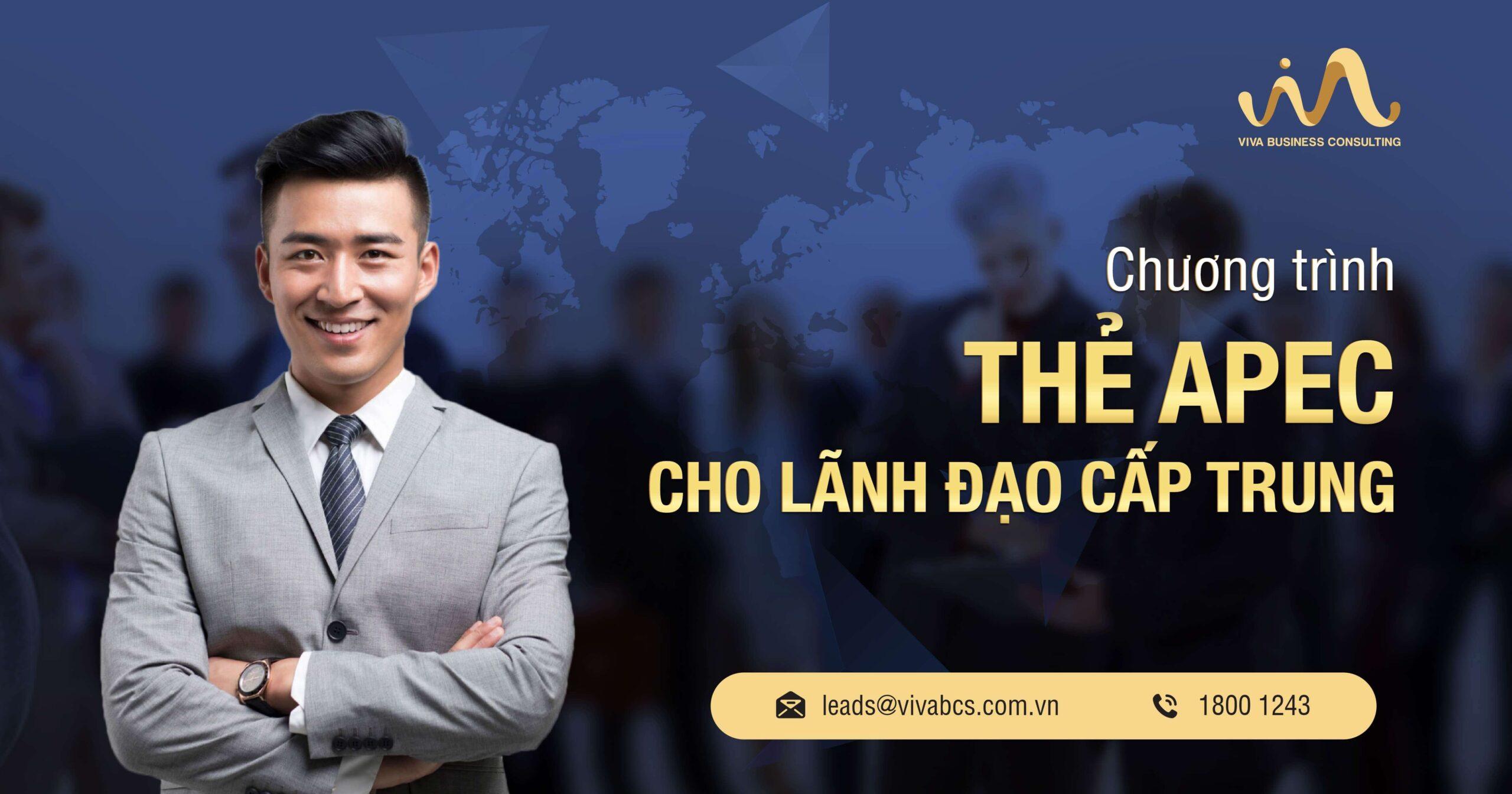 Thẻ doanh nhân APEC cho lãnh đạo cấp trung