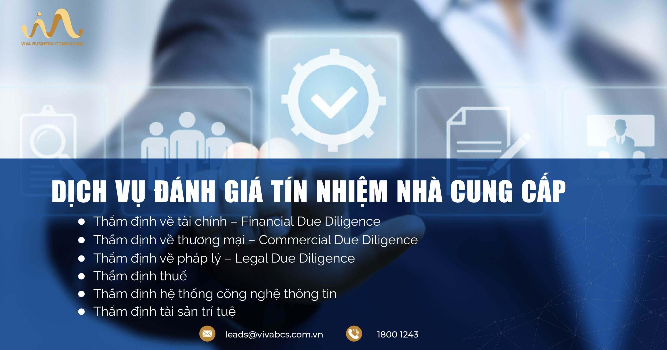 Dịch vụ đánh giá nhà cung cấp - Due Diligence