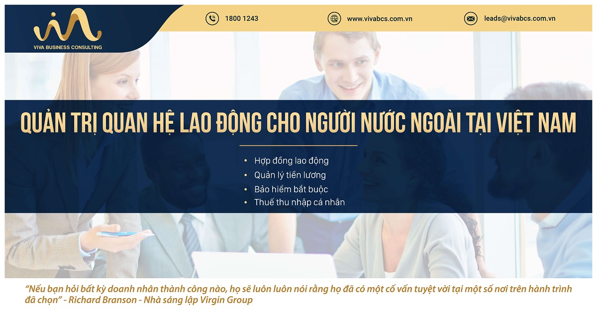 Quản trị quan hệ lao động cho người nước ngoài tại Việt Nam