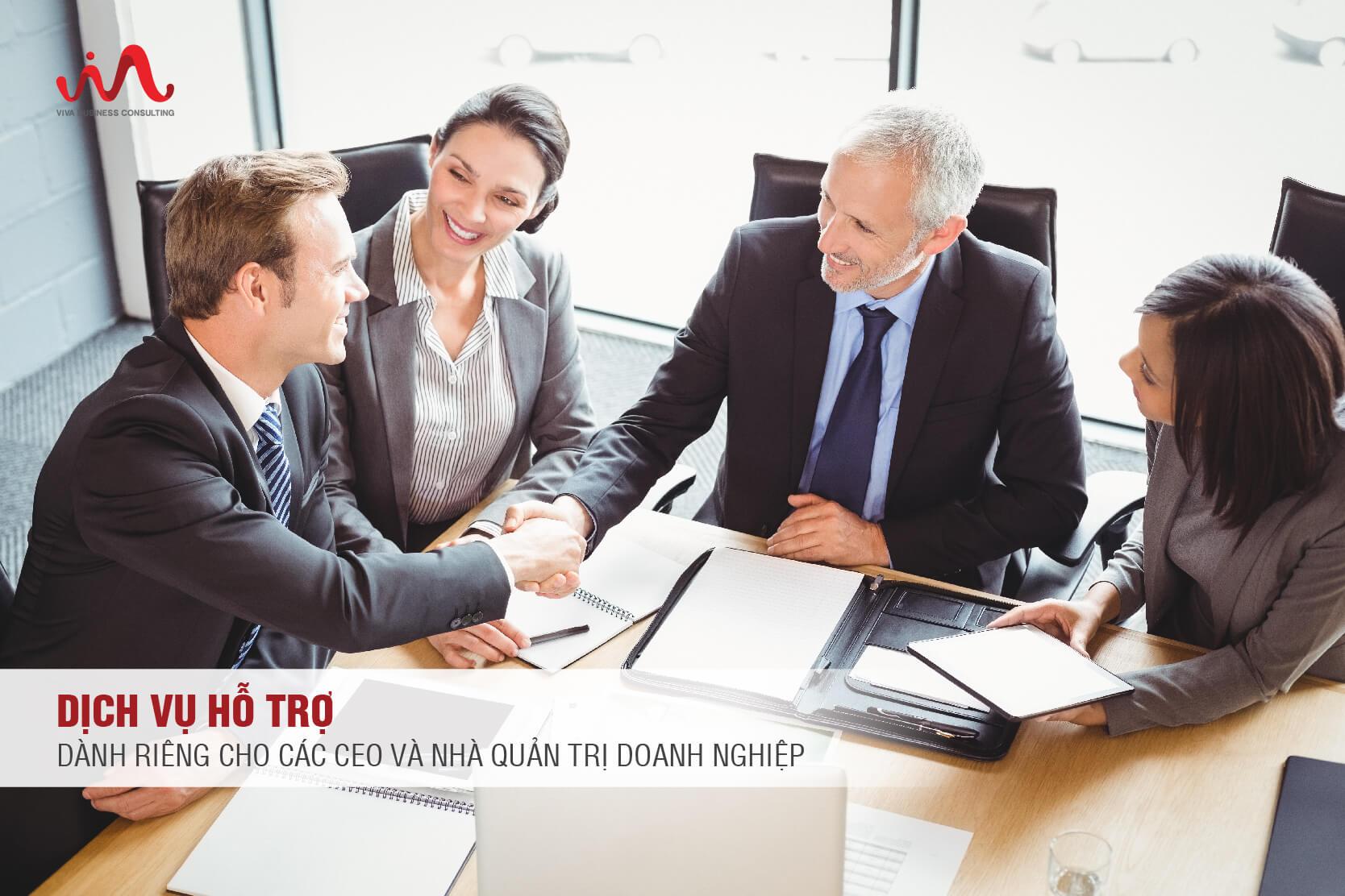 Dịch Vụ Hỗ Trợ Dành Riêng Cho Các CEO Và Nhà Quản Trị Doanh Nghiệp