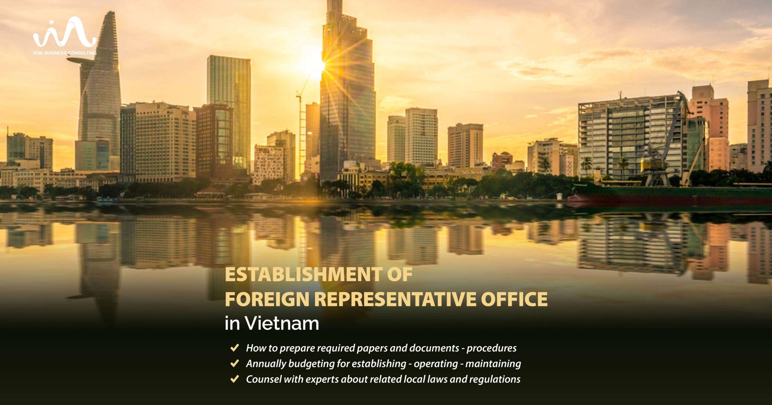 Establish foreign representative office in Vietnam