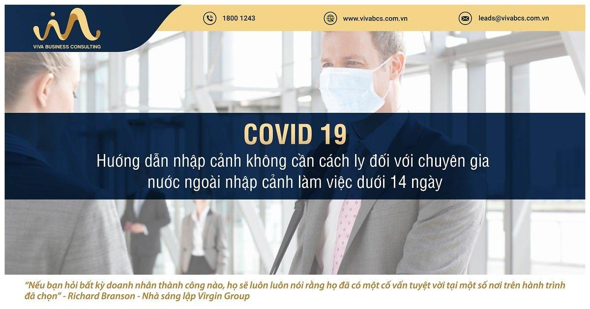 Người nước ngoài vào Việt Nam làm việc dưới 14 ngày