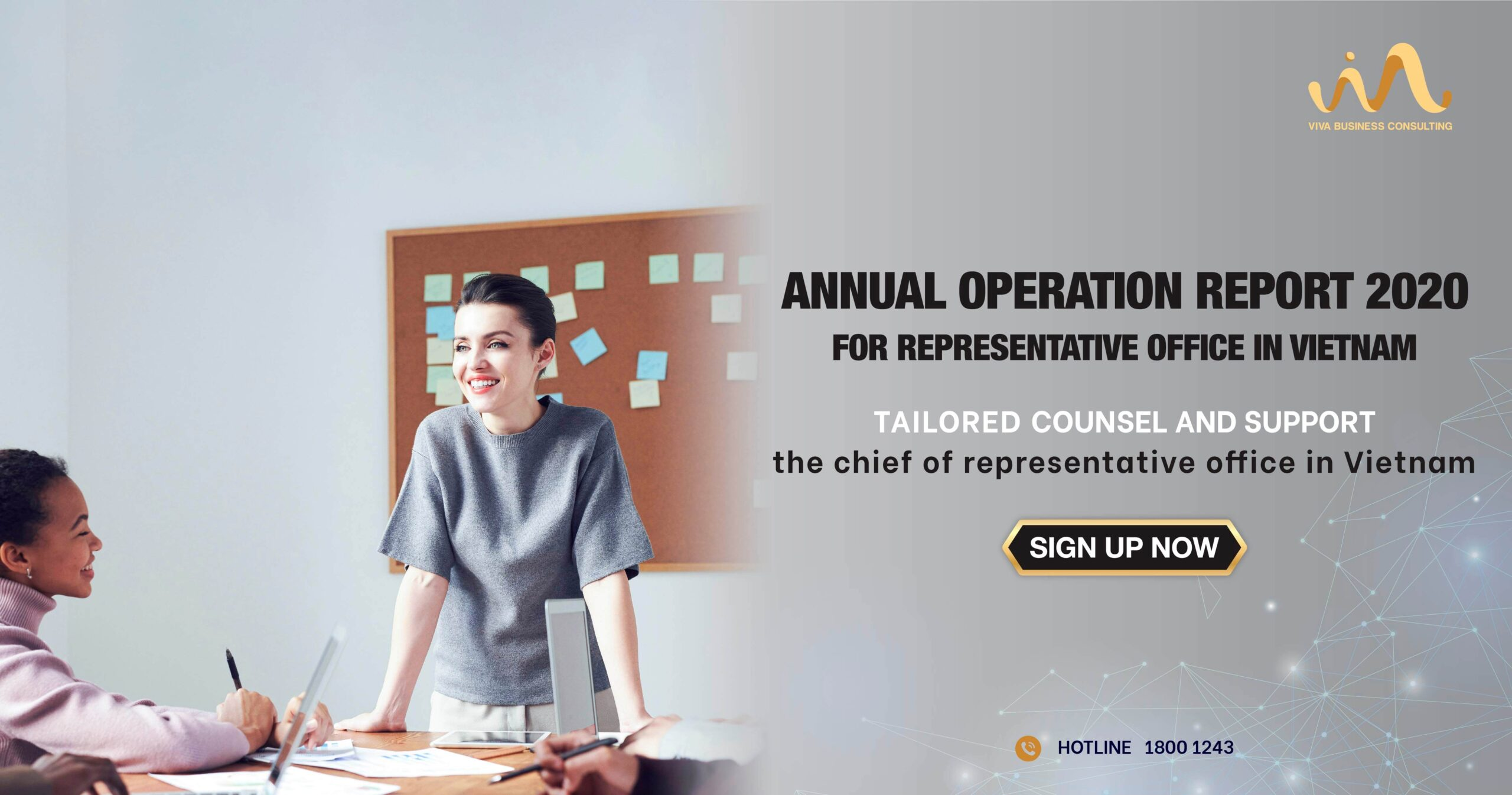 Annual Operation Report End Year 2020 for Representative Office