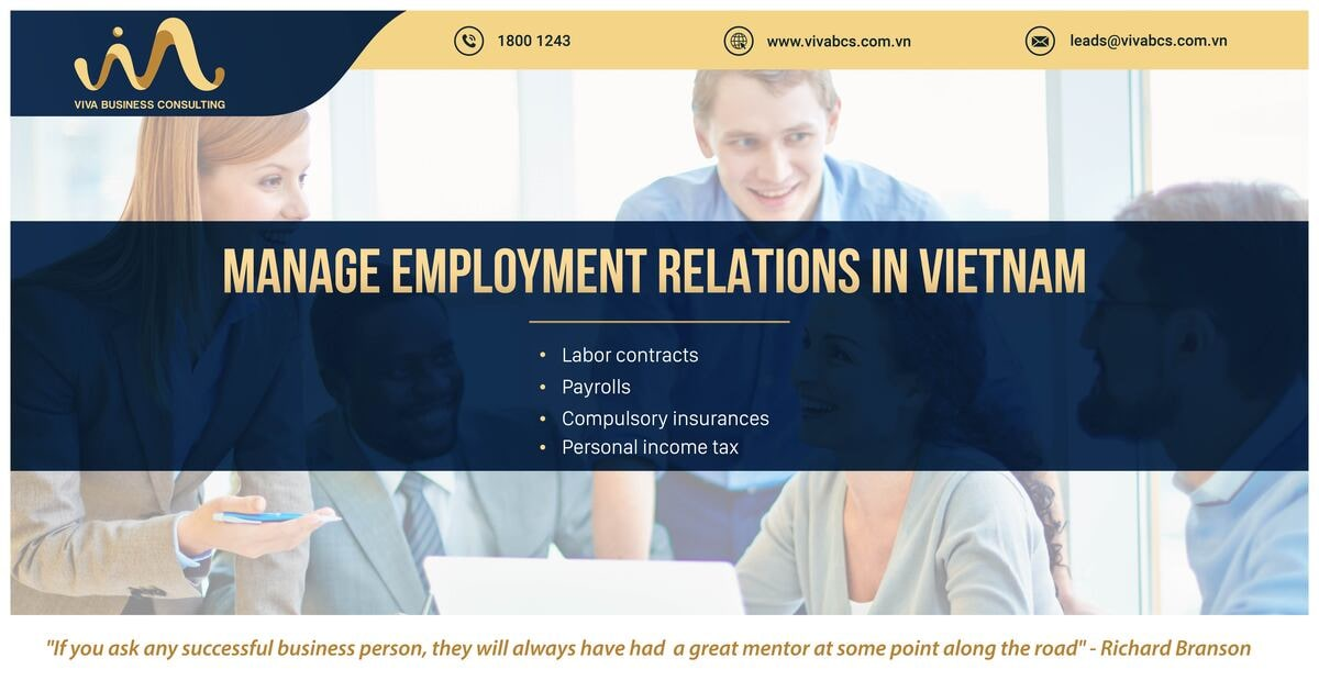 Manage labor relations for expats in Vietnam