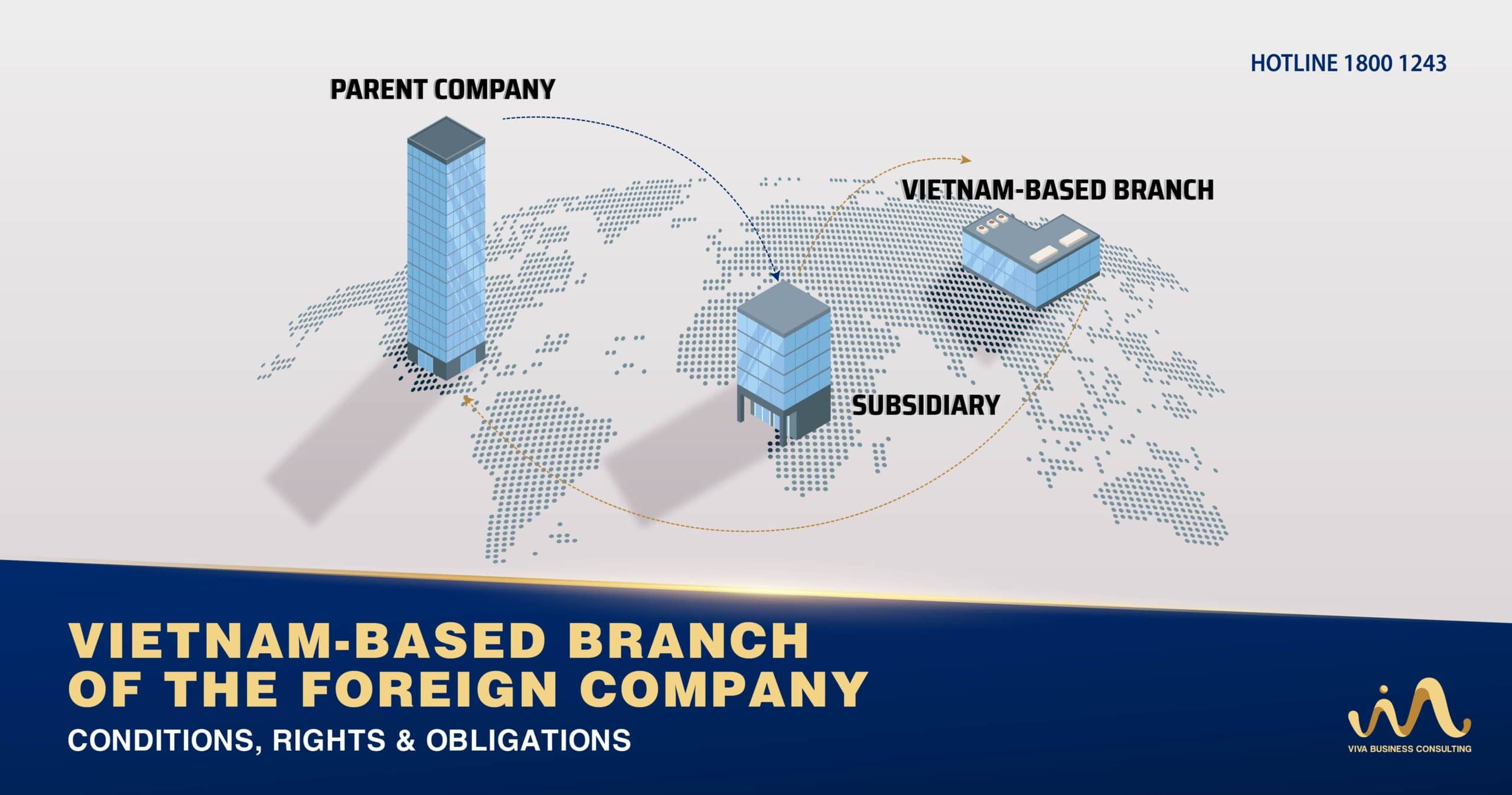 Vietnam-based branch of the foreign company